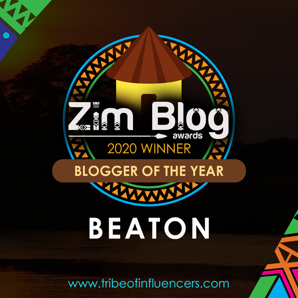 Blogger Of The year  Zimbabwe