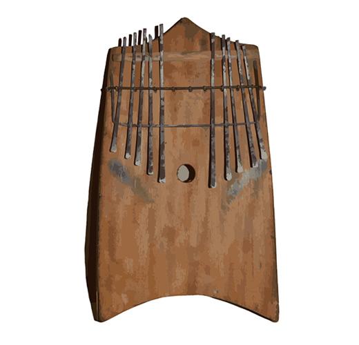 akogo  akoogo  mbira instrument Uganda