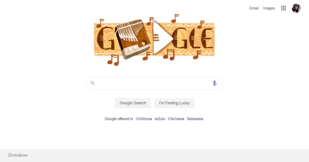 mbira google doodle