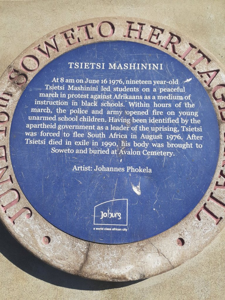 Tsietsi Mashinini memorial June 16 1976