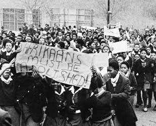 Afrikaans must be abolished placard  June 1976