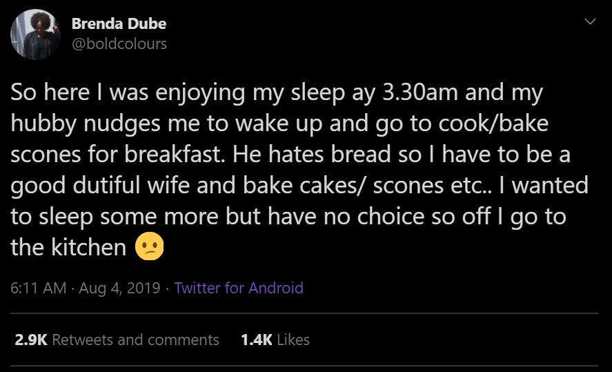 So here I was enjoying my sleep ay 3.30am and my hubby nudges me to wake up and go to cook/bake scones for breakfast. He hates bread so I have to be a good dutiful wife and bake cakes/ scones etc.. I wanted to sleep some more but have no choice so off I go to the kitchen