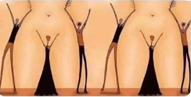 happy people Vagina illusion