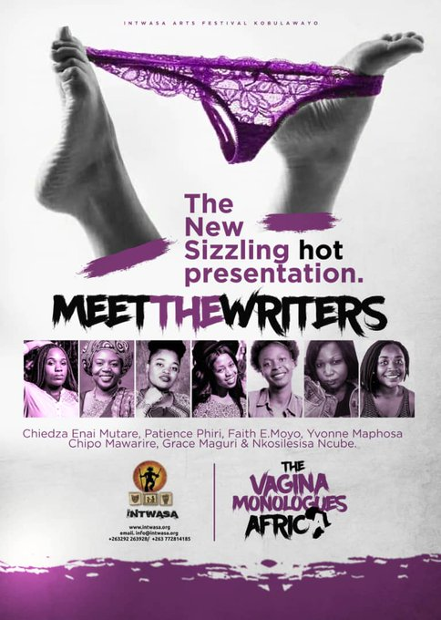 meet the writers Vagina Monologues Africa