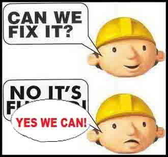 can we fix it ? Yes we can