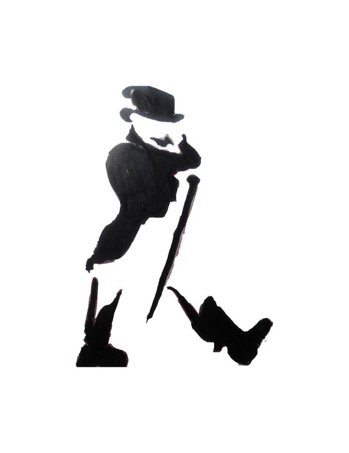 keep walking silhouette