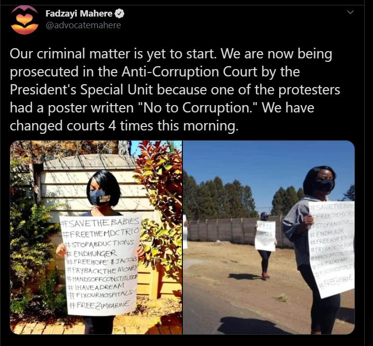 arrested for anti-corruption demo