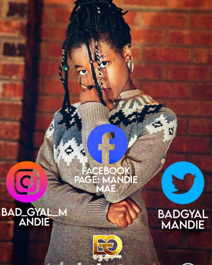 Bad gyal mandie may social media