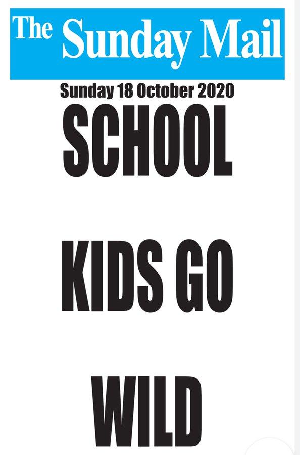 school kids go wild