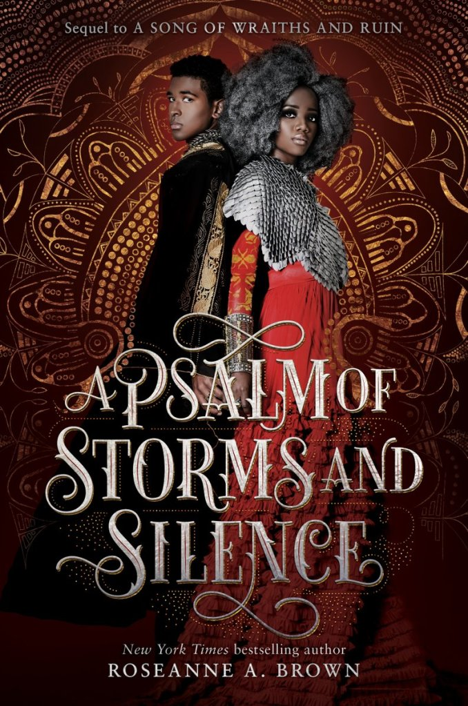 A Psalm Of  Storms And Silence Roseanne A. Brown cover reveal