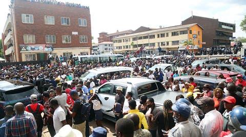 Ginimbi funeral procession