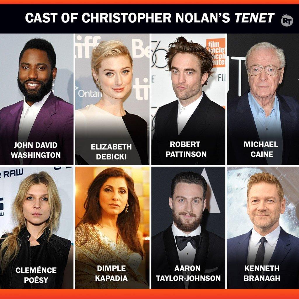 tenet movie cast