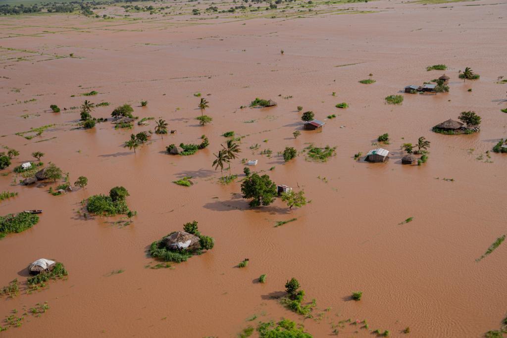 Quelima Mozambique - WMO Filipe Lucia  cyclone eloise flooding