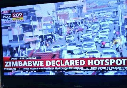 Zimbabwe Declared Hotspot