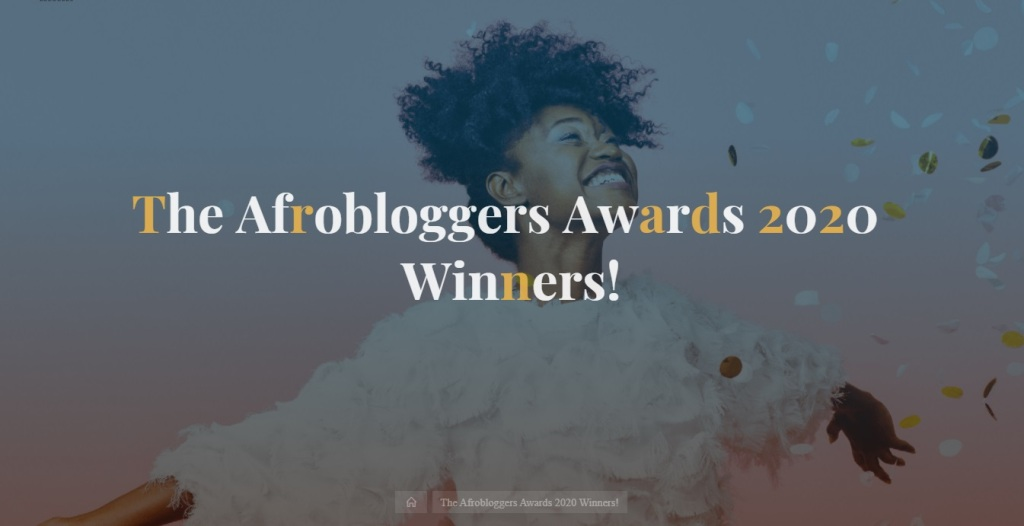 afrobloggers awards winners