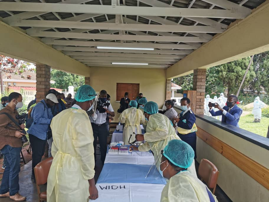 Wilkins Hospital Vaccination point