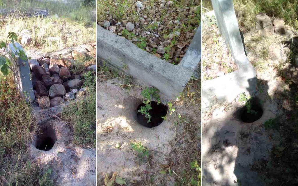 Dinde Community graves