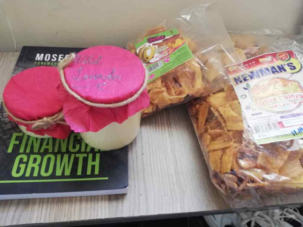 Care package from Uganda