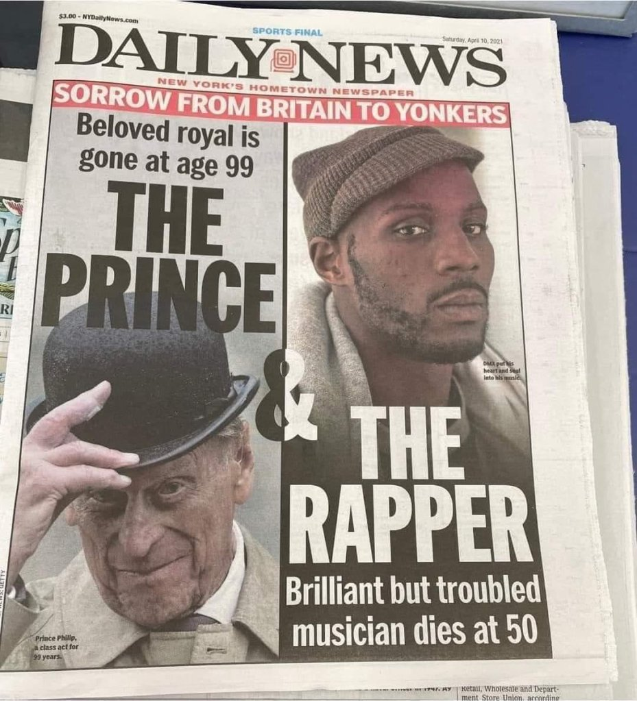 New York Daily Times The Prince and The Rapper