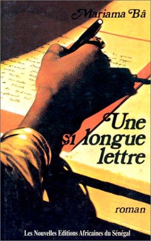 Une si longue letter  So long a letter
