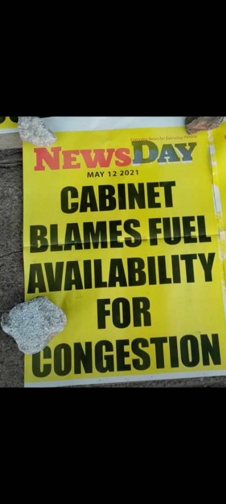 cabinet blames fuel availability for traffic jam