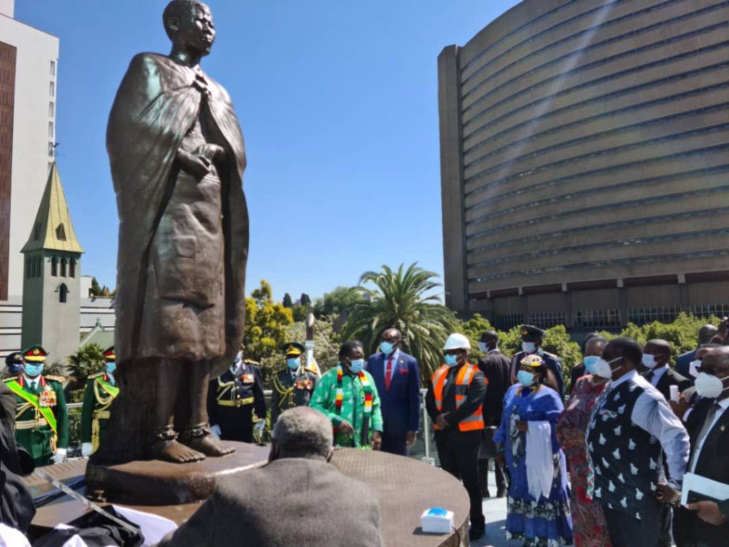 Mbuya nehanda Statue unveiled