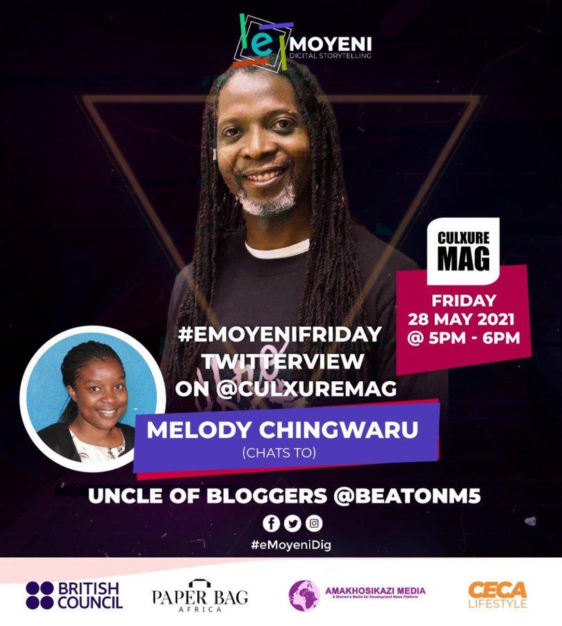 Twitterview with Melody Chingwaru Emoyeni Digital Stoytelling