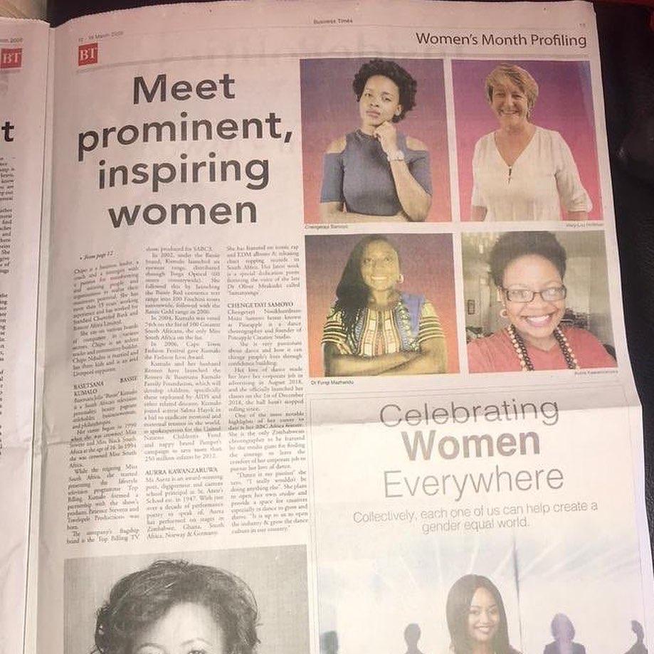 meet prominent inspiring women