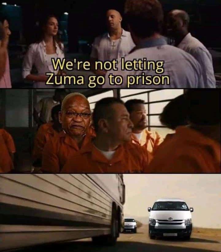 Zuma is Family Vin Diesel meme