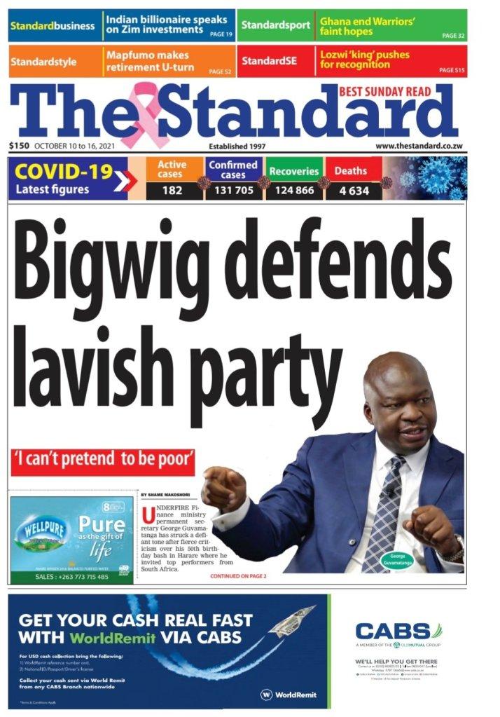 Bigwig defends lavish party